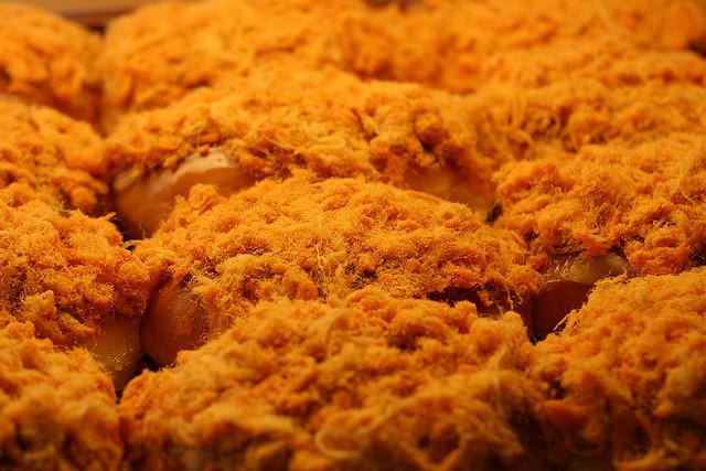 肉松面包的手拉手 – 深夜谈吃