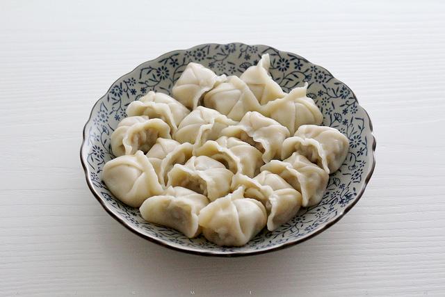 香芹水饺,青青思念 – 深夜谈吃